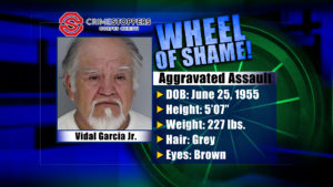 Wheel Of Shame Fugitive: Vidal Garcia Jr.