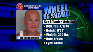 Wheel Of Shame Fugitive: Richard Longoria
