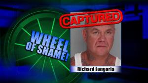 Wheel Of Shame Arrest: Richard Longoria