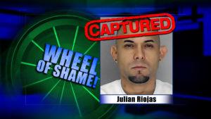 Wheel Of Shame Arrest: Julian Riojas
