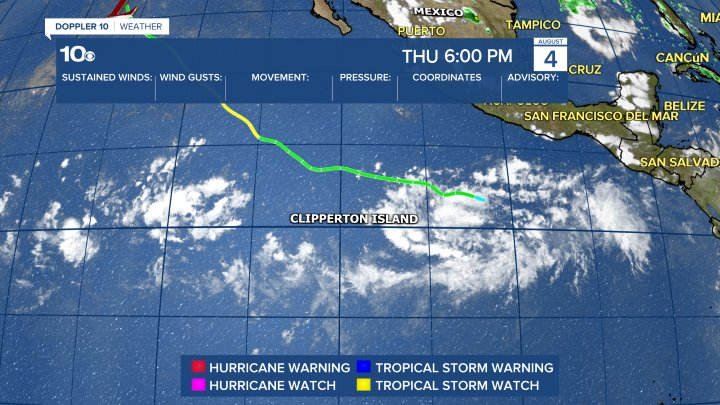 Tropical Weather Tracking